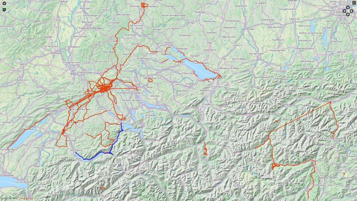 Activities-in-Switzerland-2013